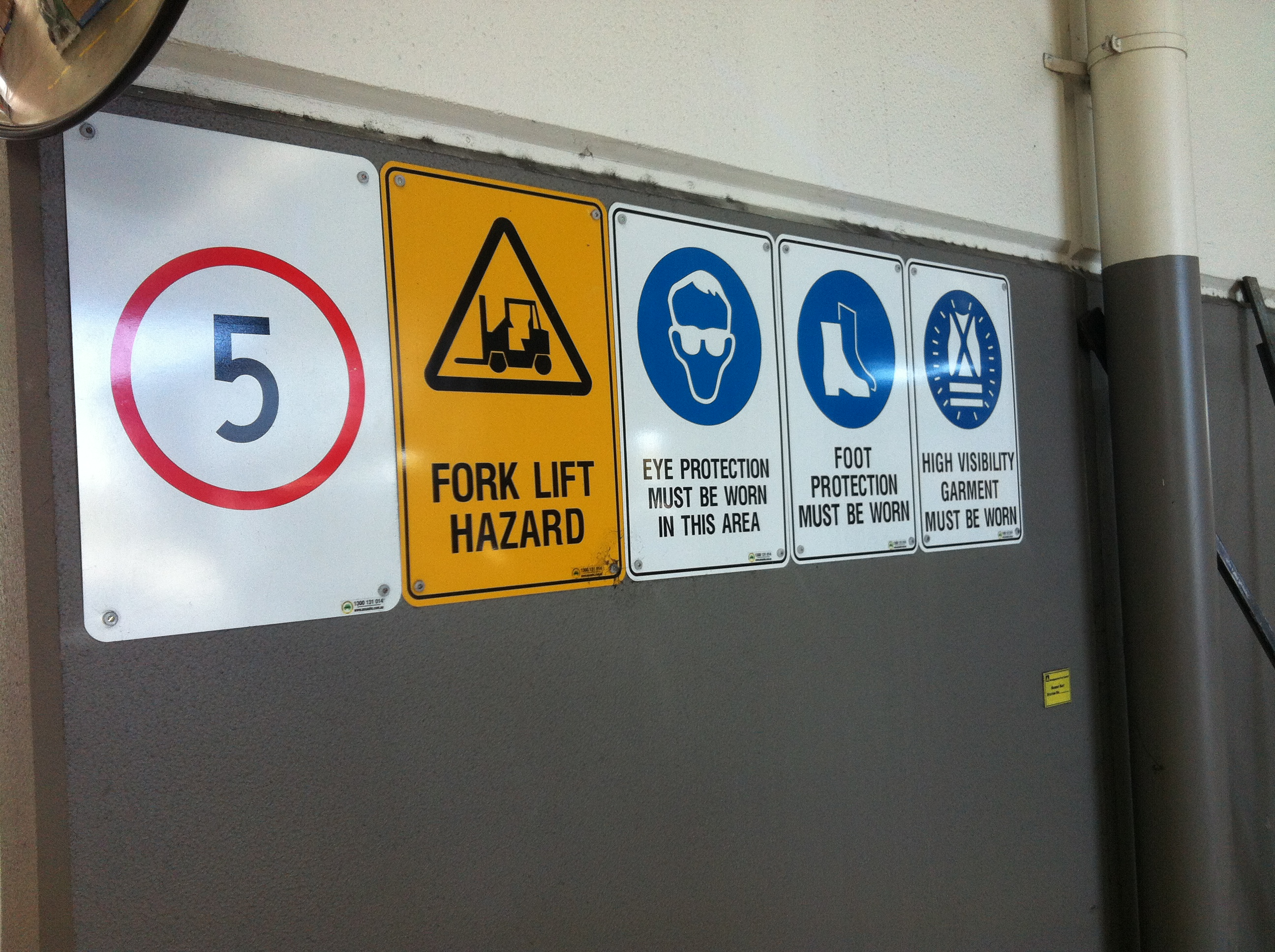 Car Park Safety Mirrors